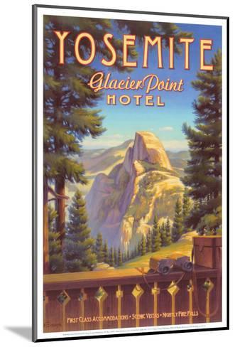 Yosemite, Glacier Point Hotel-Kerne Erickson-Mounted Art Print