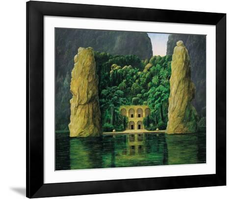 Temple of Trust Signiert-Andreas Scholz-Framed Art Print
