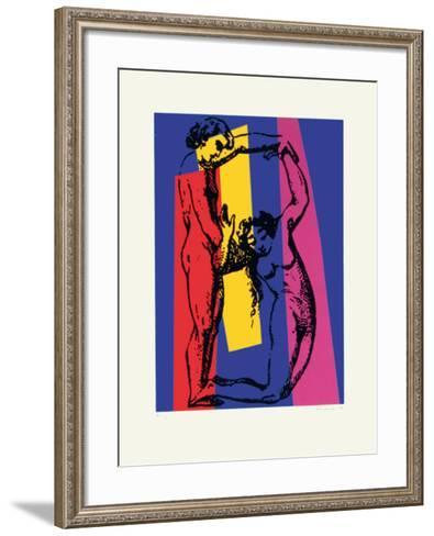 No. 3, B-Jean Marie Haessle-Framed Art Print