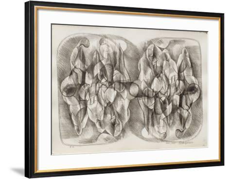 Etude de Femmes II-Raul Anguiano-Framed Art Print