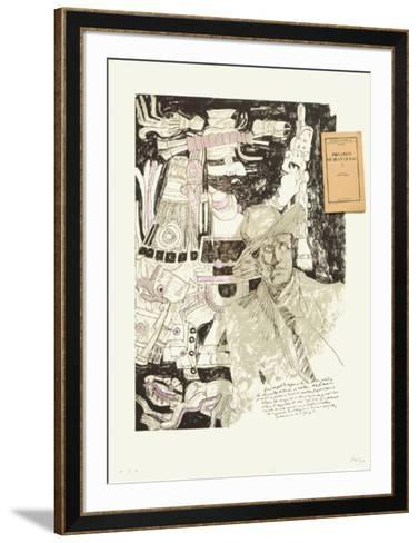 Decouverte-Jean Le Gac-Framed Art Print