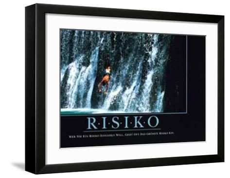 Risiko--Framed Art Print