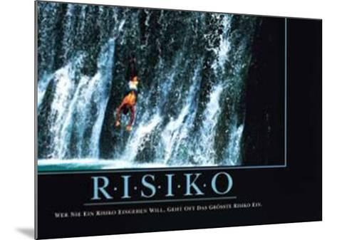 Risiko--Mounted Art Print