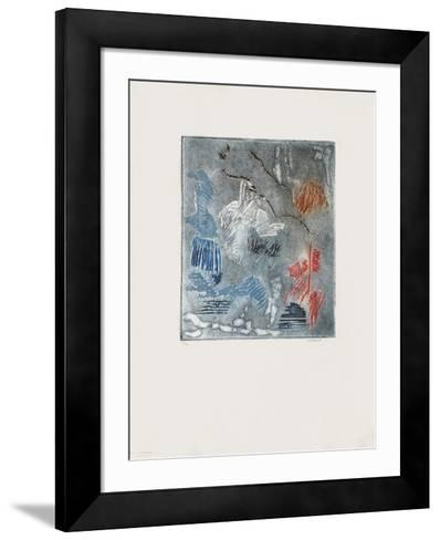 Riviere de Diam-Erik Levesque-Framed Art Print