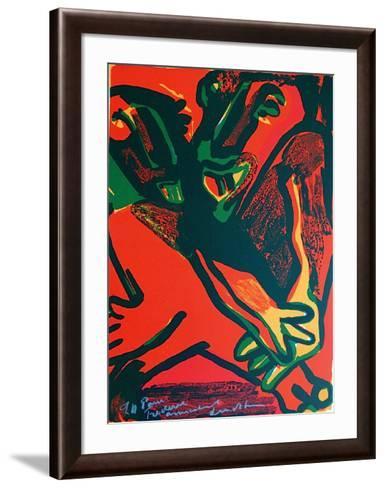 Composition XI-Bengt Lindstroem-Framed Art Print