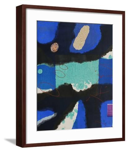 Nympheas - Calypso-Lionel-Framed Art Print
