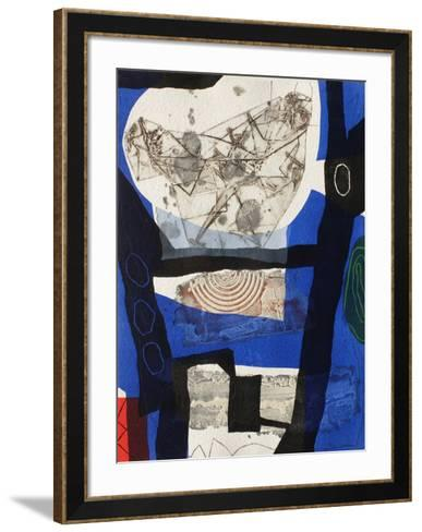 Conversation-Lionel-Framed Art Print