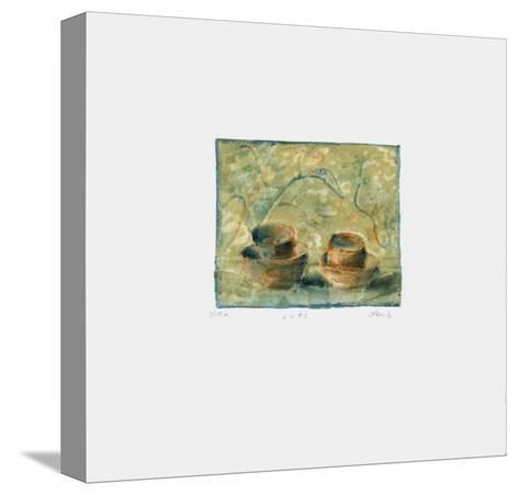 Cups-Lou G^ (Lupita Gorodine)-Stretched Canvas Print