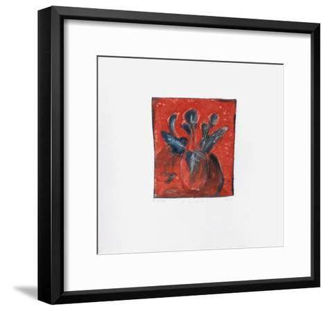 Arums-Lou G^ (Lupita Gorodine)-Framed Art Print