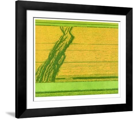 Aufwaerts 1995-Michael Rausch-Framed Art Print