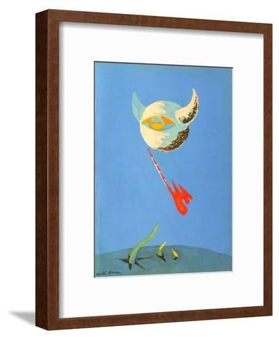 Lune-Andr? Masson-Framed Art Print