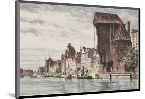Danzig - Lange Bruecke-Bruck-Mounted Collectable Print