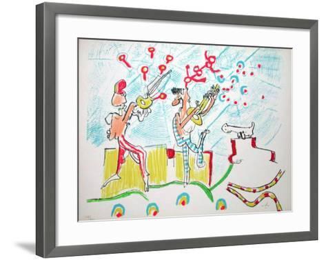 Les Annales du Son-Roberto Matta-Framed Art Print