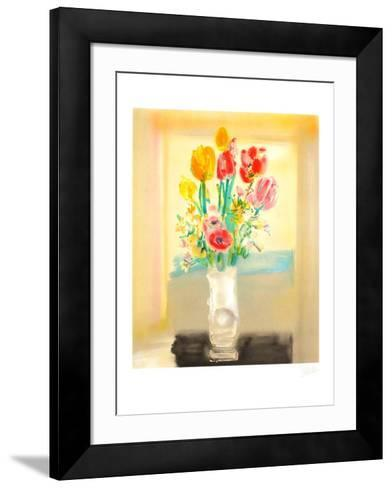 Bouquet de Fleurs II-Blasco Mentor-Framed Art Print