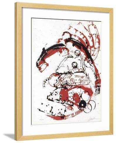 L'Interieur des Choses - le Telephone-Fernandez Arman-Framed Art Print