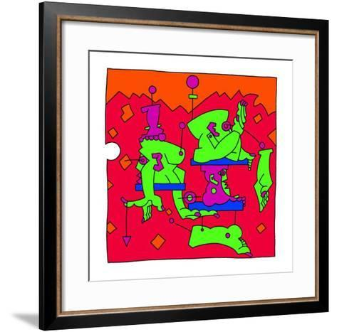 Mobile, 2001-Oliver Loetz-Framed Art Print