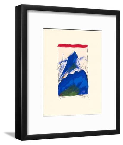 Wald-Horst Becking-Framed Art Print