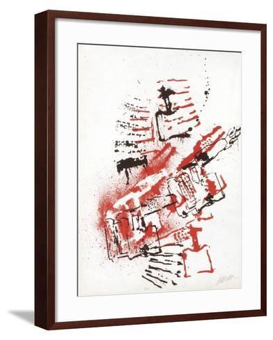 L'Interieur des Choses - la Lampe a Souder-Fernandez Arman-Framed Art Print