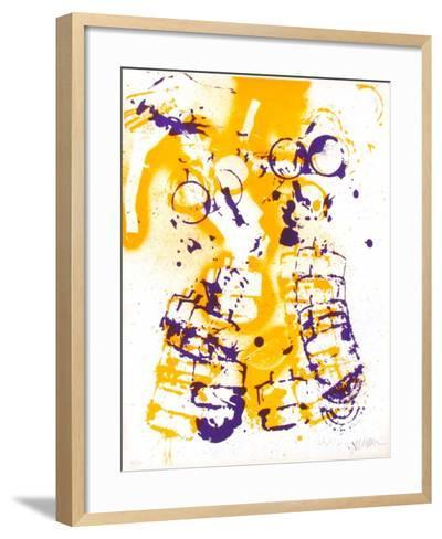 L'Interieur des Choses - le Masque a Gaz-Fernandez Arman-Framed Art Print