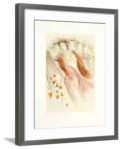 Dawning, 2001-Gary Benfield-Framed Art Print
