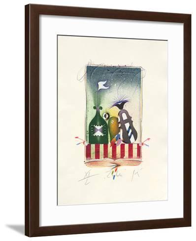 Zauberei, 2001-Peter Korinek-Framed Art Print