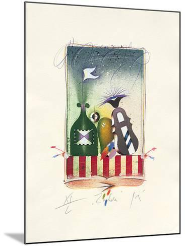 Zauberei, 2001-Peter Korinek-Mounted Limited Edition