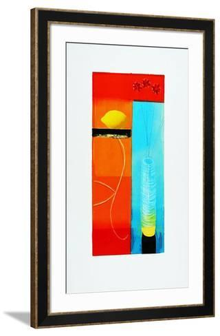 Still Life with Lemon-Russel Baker-Framed Art Print