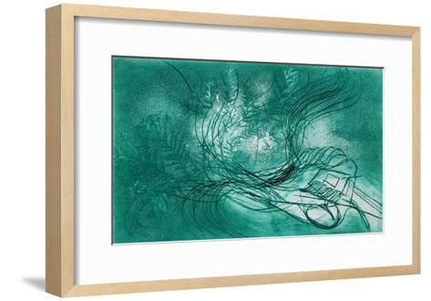 Gachette Pour Un Arbre-Jean Messagier-Framed Art Print