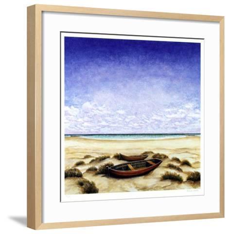 Boote Am Meer-Folkert Rasch-Framed Art Print