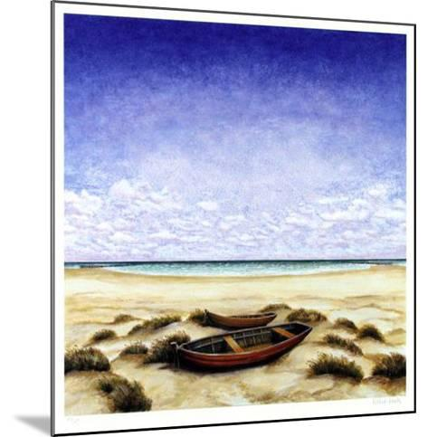 Boote Am Meer-Folkert Rasch-Mounted Limited Edition