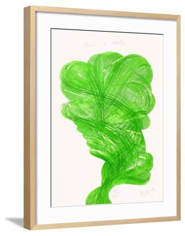 Printemps a Deplisser-Jean Messagier-Framed Art Print