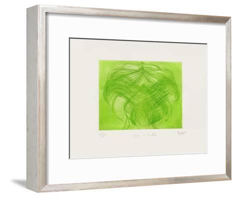 Ovni de Printemps II-Jean Messagier-Framed Art Print
