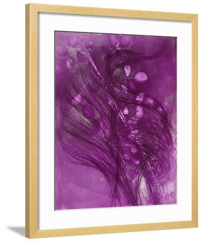 Rosiers en Diagonale-Jean Messagier-Framed Art Print