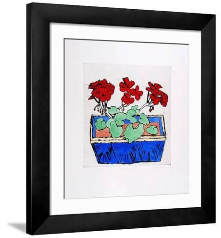 Geranium-Richard Spare-Framed Art Print