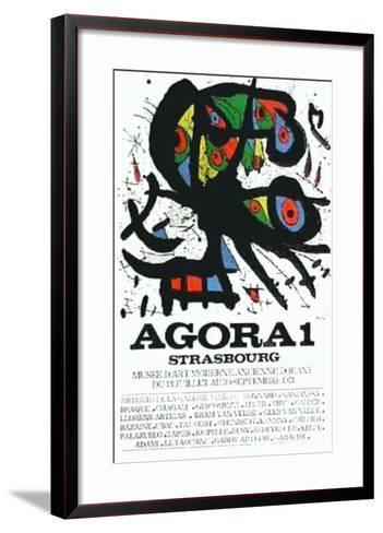 Agora I-Joan Mir?-Framed Art Print