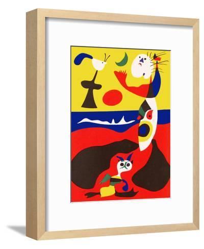 L'Ete-Joan Mir?-Framed Art Print
