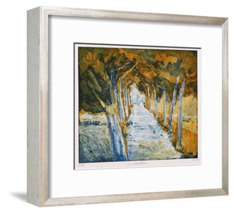 Allee-Guenther Fries-Framed Art Print