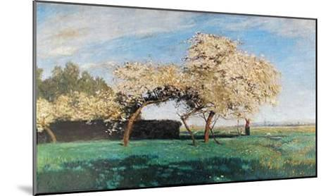 Frühlingstag-Hans Am Ende-Mounted Art Print