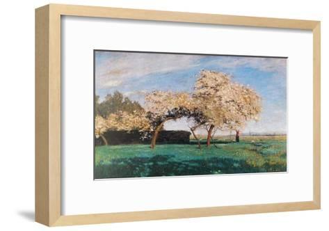 Frühlingstag-Hans Am Ende-Framed Art Print