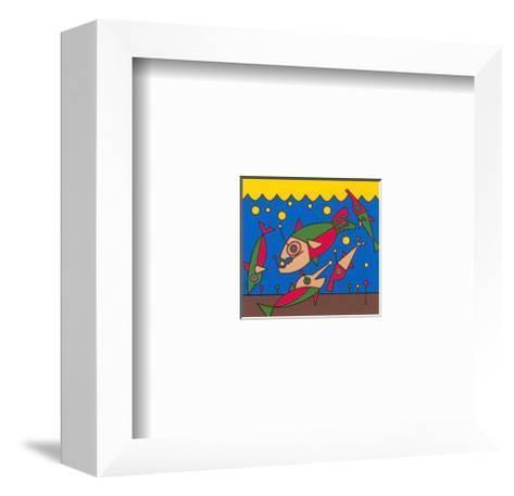 Fische-Oliver Loetz-Framed Art Print