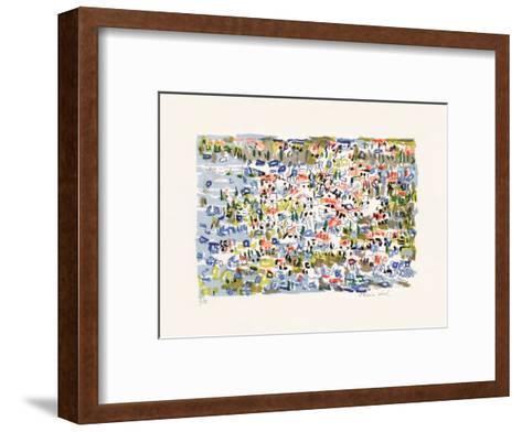 Paysage V-Irene Pereira Leal-Framed Art Print