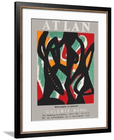 Expo Galerie Bing-Jean-michel Atlan-Framed Art Print