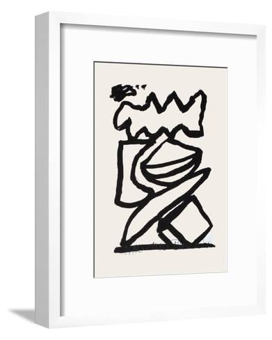 Composition 125-Jean-pierre Pincemin-Framed Art Print