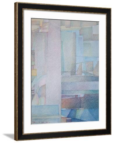 Portkosme 46-Georges Point-Framed Art Print