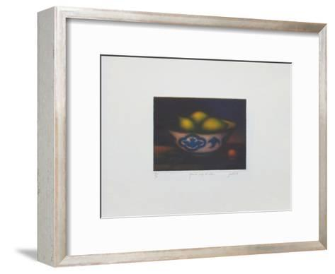 Grande coupe aux citrons-Laurent Schkolnyk-Framed Art Print