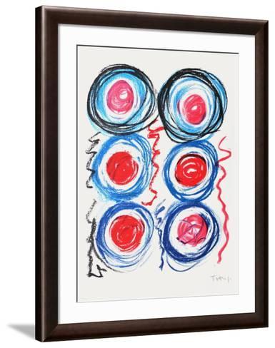 Signaux-Vassilakis Takis-Framed Art Print