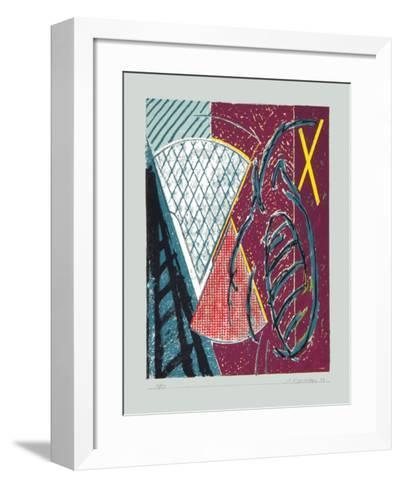 Armoriale II-G?rard Titus-Carmel-Framed Art Print