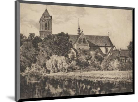 Guestrow - Dom-Bruck-Mounted Collectable Print