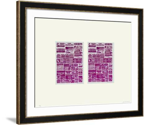 Deux Fois Rose-Huguette Arthur Bertrand-Framed Art Print