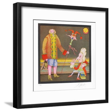Suite Carnaval de Saint Petersbourg No. 15-Mihail Chemiakin-Framed Art Print